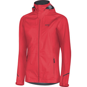 GORE WEAR R3 Gore-Tex Active Hooded Jacket Women, lumi orange